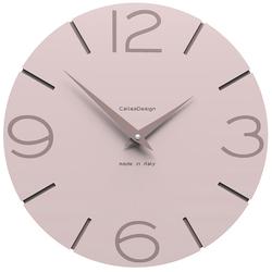 Zegar ścienny Smile CalleaDesign jasnoróżowy 10-005-31