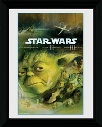 Star Wars Blu Ray Prequel - obraz w ramie