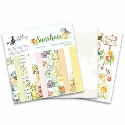 Papier Sunshine 15,3x15,3 cm - zestaw