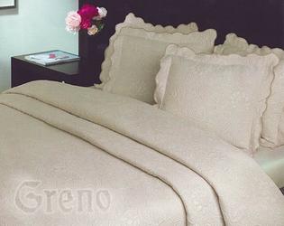 FLOWER Narzuta na fotel Greno kremowy - kremowy