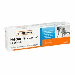 Ratiopharm Heparin Sport żel