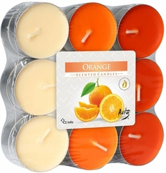 Bispol, Pomarańcza, podgrzewacze zapachowe, 18 sztuk