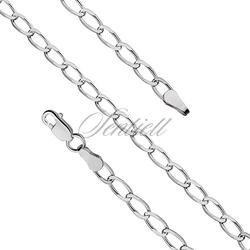 Bransoletka srebrna pr.925 Ø 69 pancerka diamentowana waga od 2,0g - Ø 069