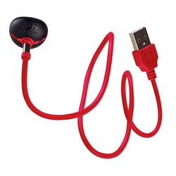 Ładowarka - fun factory usb magnetic charger red