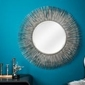 Interior space :: lustro sunlight l srebrny