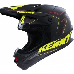 Kenny kask off-road track matt yellow