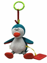 Zabawka sensoryczna, Kolekcja Świąteczna, Pingwin, Dolce