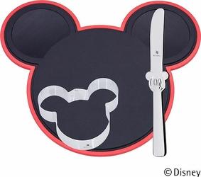 Zestaw dla dzieci z deską do krojenia Cut and Create Mickey Mouse 3 szt.
