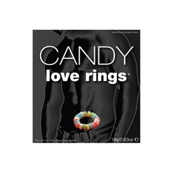 Pierścień miłosny z cukierków