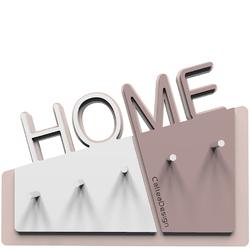 Wieszak na klucze Home CalleaDesign szara śliwka  biały 18-001-34