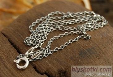 Antic - srebrny łańcuszek 70cm