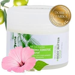 Macrovita naturalne masło do ciała z bio-oliwą z oliwek i malwą 200ml - natural