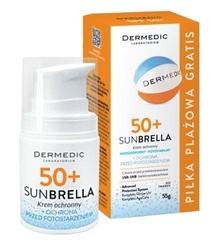 Dermedic sunbrella krem przeciwzmarszczkowy spf50+ 55g