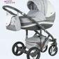 Wózek adamex vicco carmel grey 3w1 fotel maxi cosi cabriofix