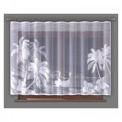 Firanka palmy 260 x 150 cm