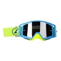 Lazer goggle race style mirror blue blue yellow f