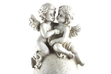 Figurka dekoracyjna aniołek 15x13x29 cm mix wzorów
