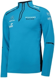 Bluza williams racing 2019 niebieska - niebieski