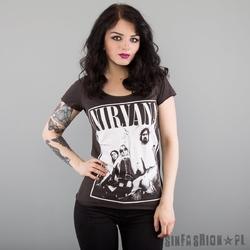 Koszulka amplified - nirvana group shot l.