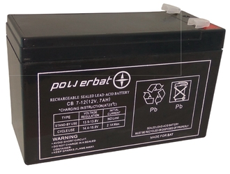 Akumulator SECURBAT 12V 7Ah - Szybka dostawa lub możliwość odbioru w 39 miastach