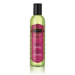 Lekki olejek do masażu i nawilżania - kamasutra naturals massage oil granat - 236gram
