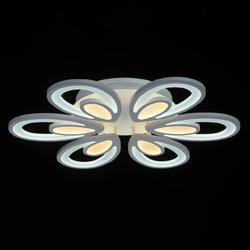 Nowoczesna lampa sufitowa led w kształcie kwiatu demarkt hi-tech z pilotem 661016506