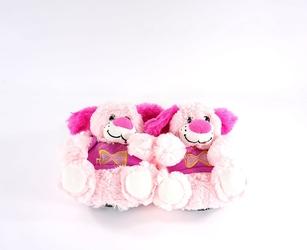 Pantofle dziecięce ame 35014 róż