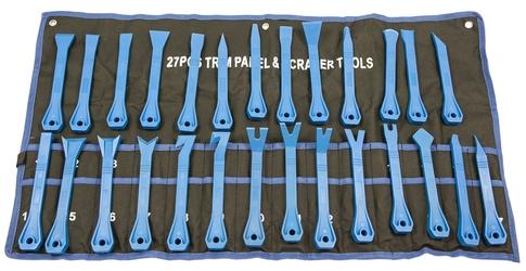 Ściągacze do tapicerki 27 el zestaw ściągaczy falon-tech