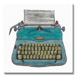 Typewriter - obraz na płótnie