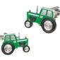 Spinki do mankietów zielony traktor sd-1404