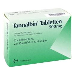 Tannalbin tabletki na biegunkę