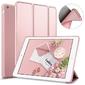 Etui alogy smart case do apple ipad air różowe - różowy