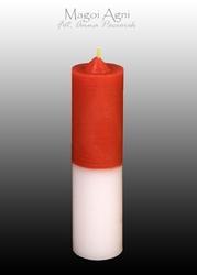 Świeca cofająca czerwono biała - choroby, płodność