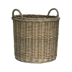 Koszyk wiklinowy okrągły duży ib laursen