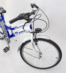 Rower bingo suzana ctb 24 damski biało-niebieski