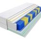 Materac kieszeniowy apollo multipocket 195x210 cm średnio twardy 2x lateks visco memory
