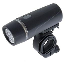 Lampa przednia xc light 100, 5-diód, 3-funkcje