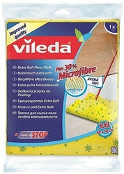 Vileda, Odor Stop, ściereczka do podłogi  z jonami srebra i 30 mikrofibry, 1 sztuka
