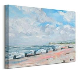 Summer coast - obraz na płótnie