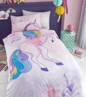 Pościel jednorożec 135x200cm unicorn