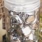 Dzwoneczki ozdobne srebrny