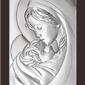 Ryngraf z powłoką srebra matka boska z dzieciątkiem bc63813wm - sprawdź dostępność