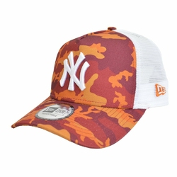 Czapka New Era MLB New York Yankees Clean A Frame Trucker - 11945567