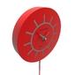 Zegar ścienny z wahadłem philip calleadesign fioletowy 11-007-73