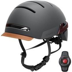 Inteligentny kask rowerowy ledsos livall bh51m