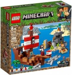 Lego klocki minecraft przygoda na statku pirackim