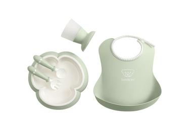 Babybjorn - zestaw obiadowy gift box - powder green