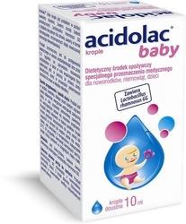Acidolac baby krople doustne 10ml