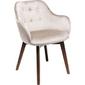 Kare design :: krzesło lady velvet srebrnoszare