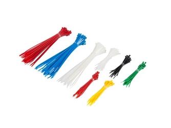 Opaska zaciskowa polietylen 100mm2.5mm - 150szt 200mm3.5mm - 150szt 300 szt - 6 kolorów - możliwość montażu - zadzwoń: 34 333 57 04 - 37 sklepów w całej polsce